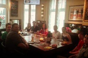 Beim Neumitglieder-Frühstück in Moers